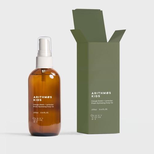 Packaging design for bod oil