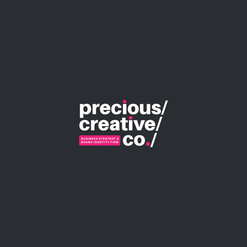 Logotype for Precious Creative Co.