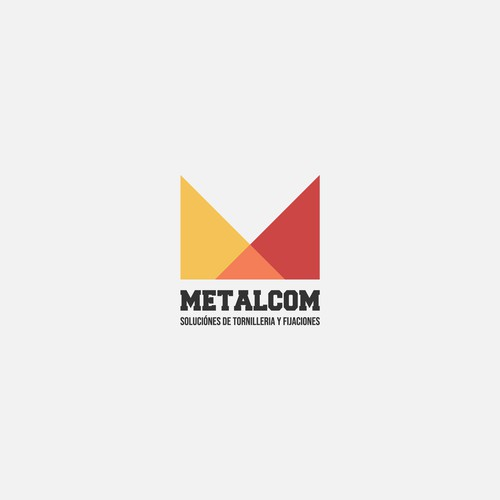 Concept logo for Metalcom