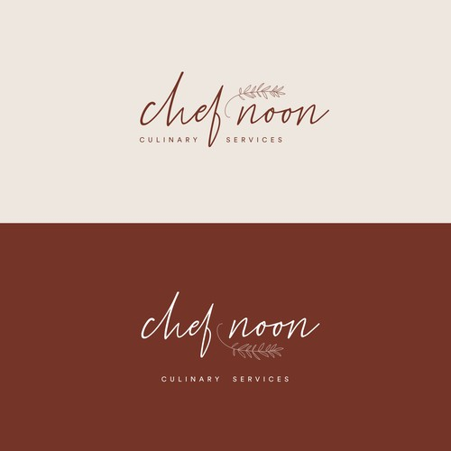 Logo concept for a high-end catering company