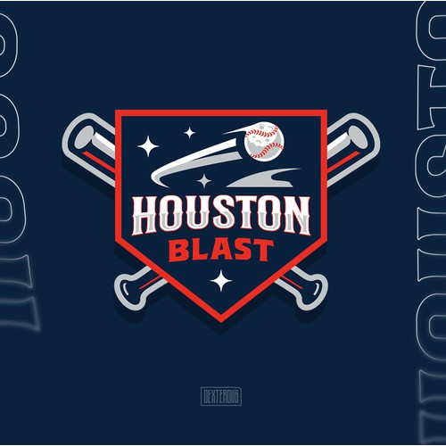 Houston Blast Logo