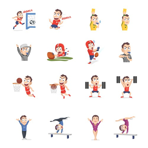Sticker Sport iMessage for NanoStak