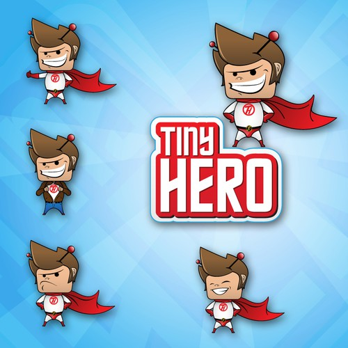 Logo for Hollywood based Marketing / TV co. - Tiny Hero