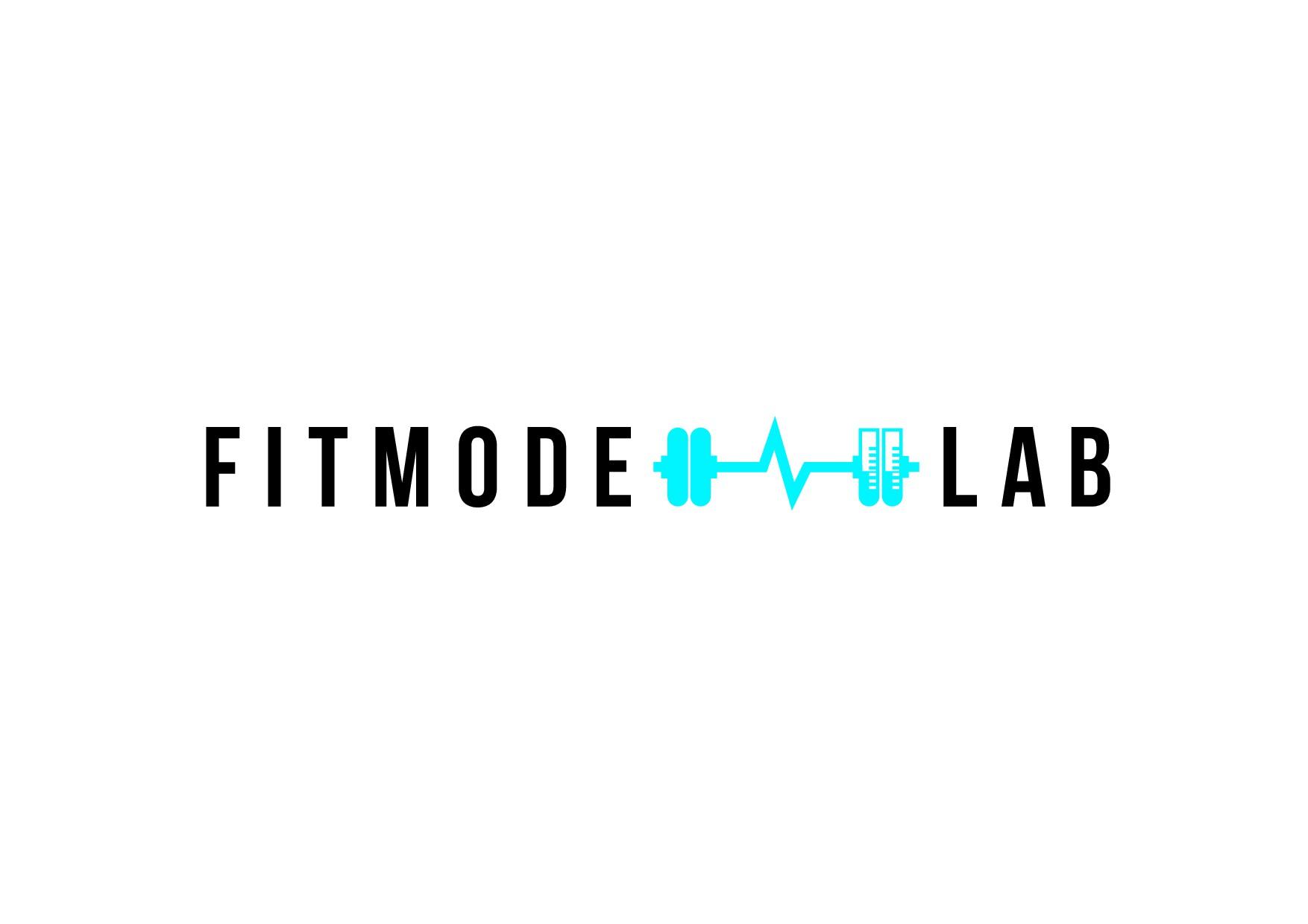 Create a sleek, modern, innovative fitness brand logo.