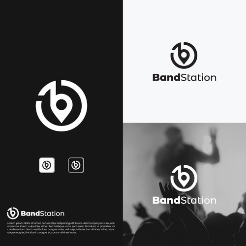 Logo for Band Station