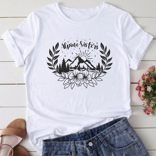 outdoor theme women's t-shirt
