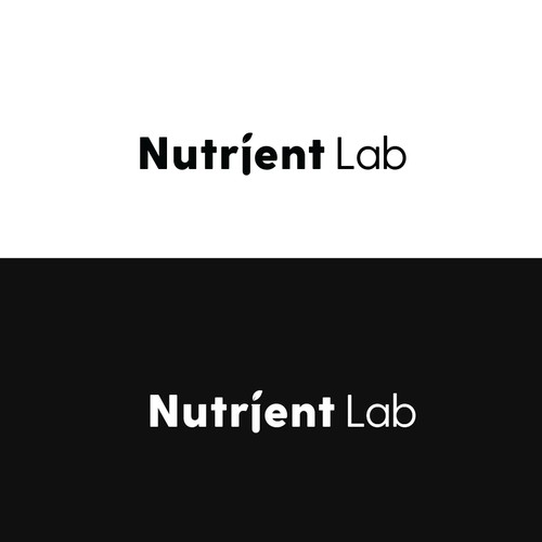 Nutrient lab logo concept