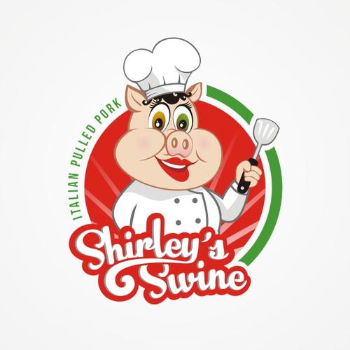 Italian Pulled Pork Speciality Logo