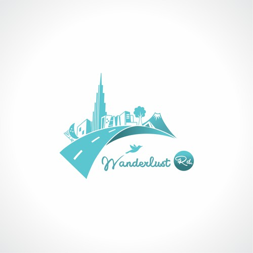 Logo Design for a Travel blog and sell greating cards and print travel location from around the world.