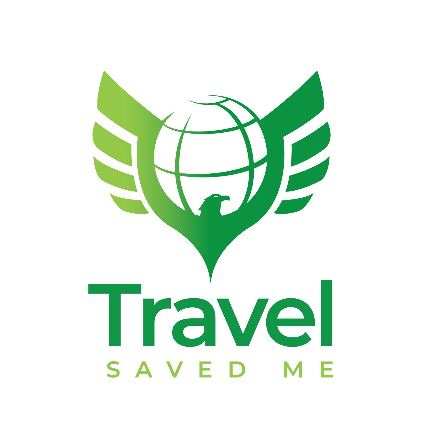 Crate a cool logo for a travel blog