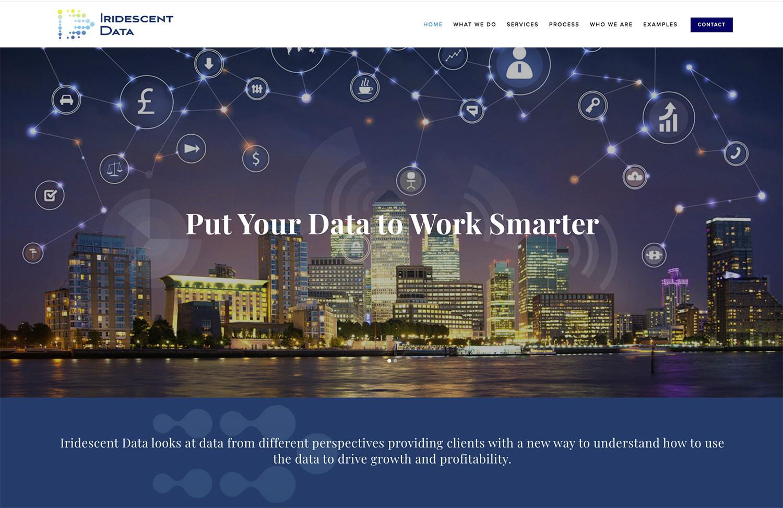 Iridescent Data LLC website
