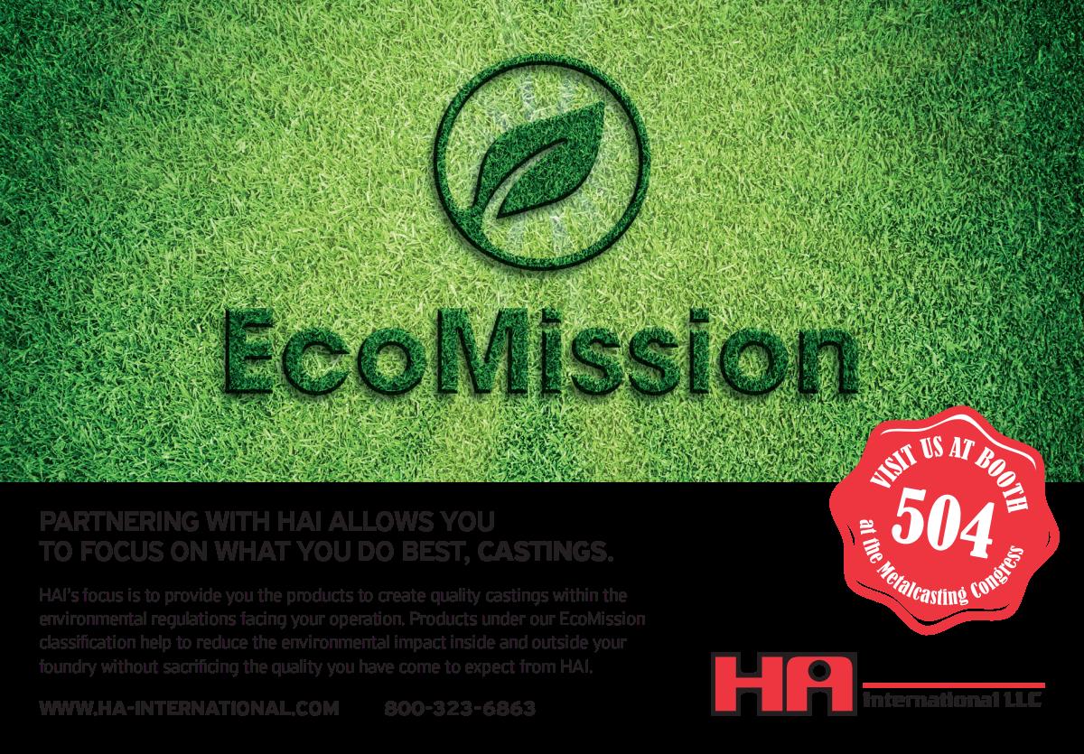 EcoMission - Half page ad