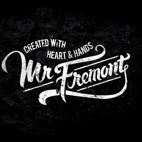 Typography for Mr Fremont