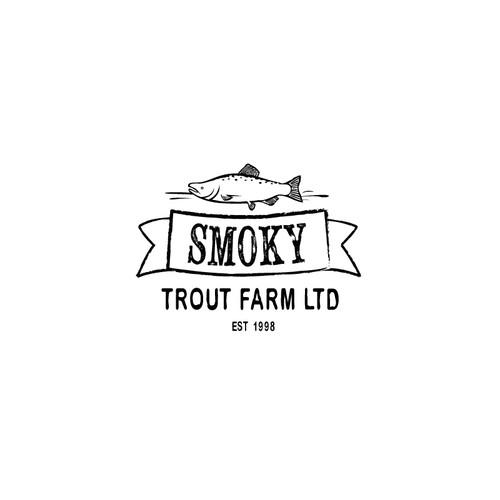 Vintage Style Farm Logo