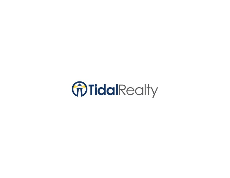 Create an logo that is symbolizes the name and business of Tidal Realty