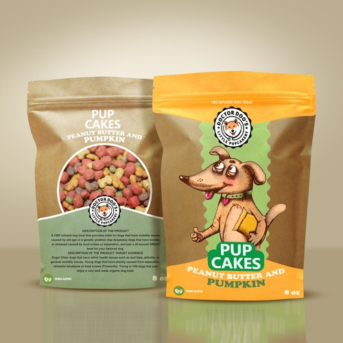 CBD Dog Treat company looking for a AWESOME package Design, you up for the challenge