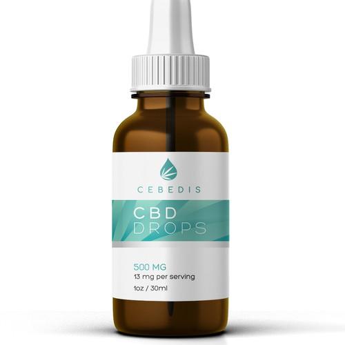 Cbd label for cebedis