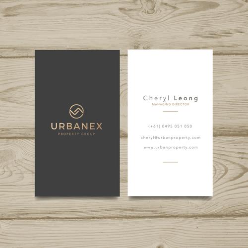 Logo concept for Urbanex
