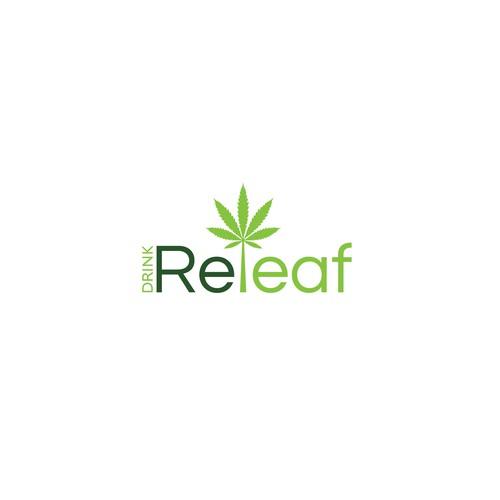 Modern Logo Design for Drink Releaf