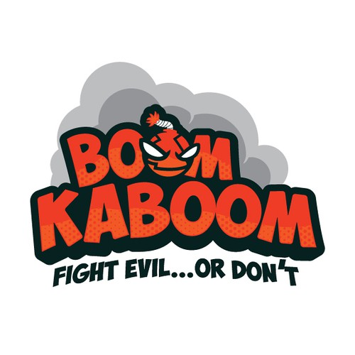 Boom Kaboom Logo Concept