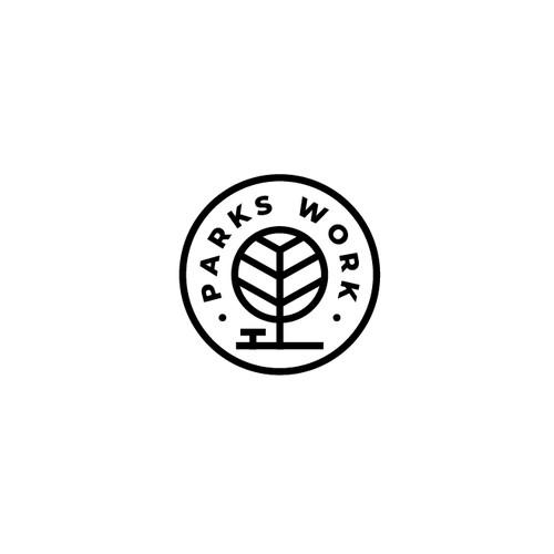 PARKS WORK Simple Logo