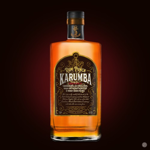 Karumba label design