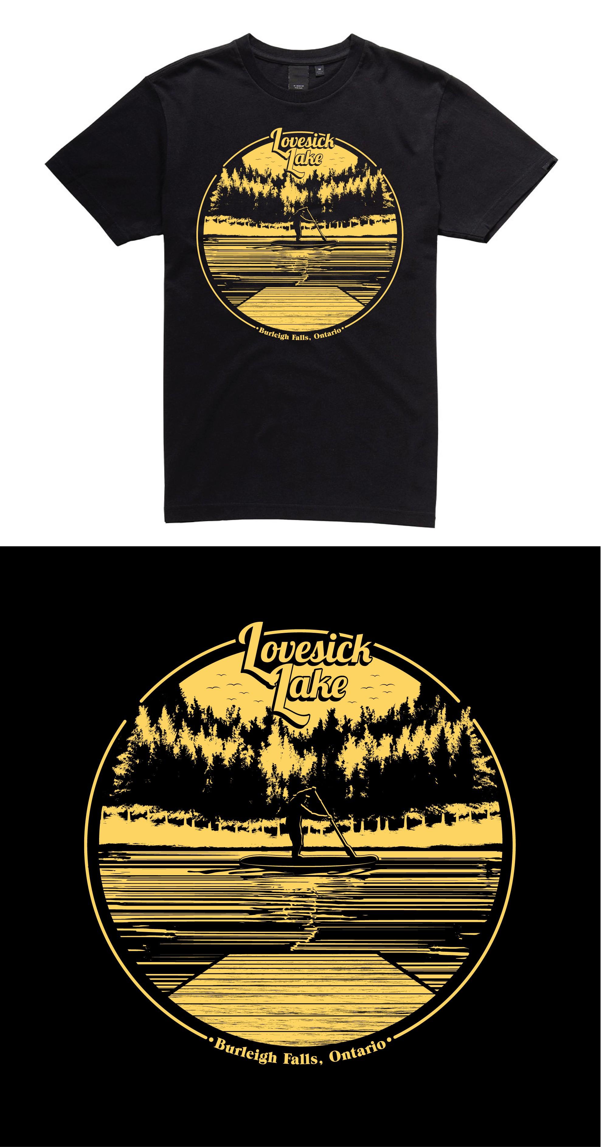 Lovesick Lake Hoodie Design