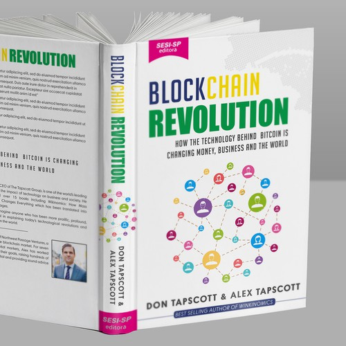 Block Chain Revolution Book Design