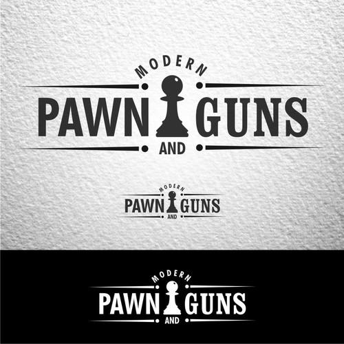 Logo for Gun and Pawn shop