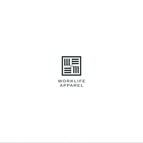 Bold Logo Concept for Worklife Apparel
