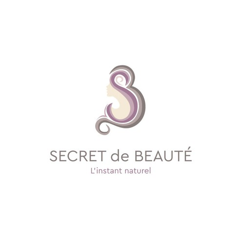 Clean and elegant femenine logo