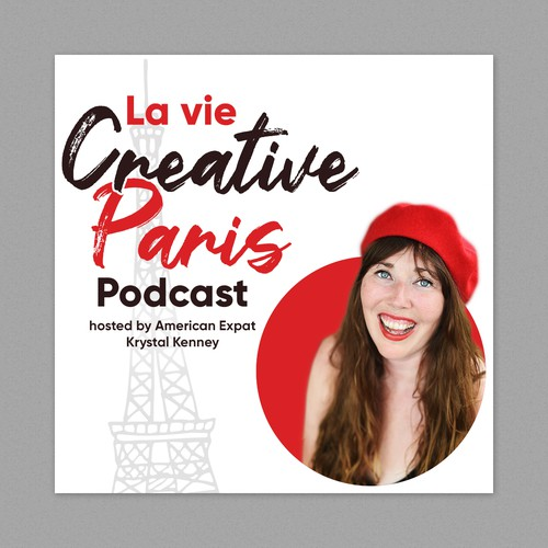 Podcast cover design