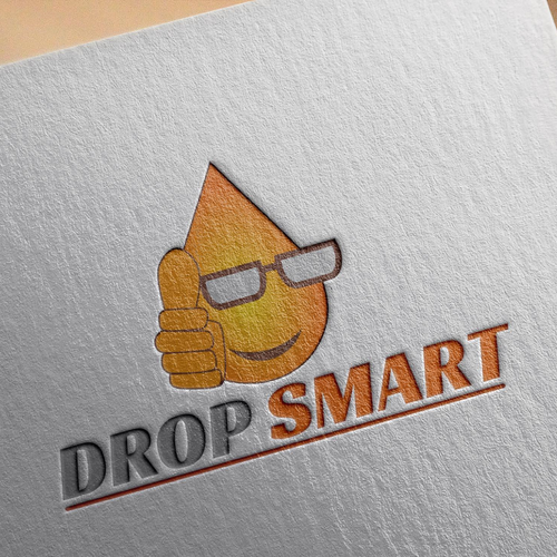 Create an engaging and clever logo for DropSmarts