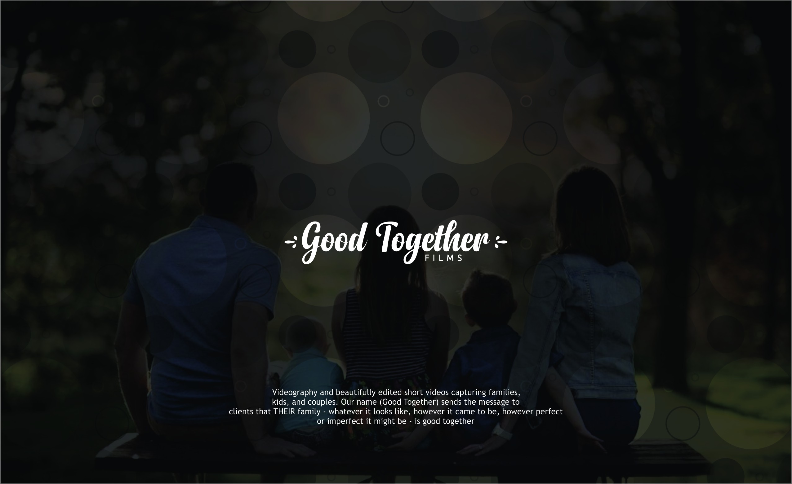 Design a logo about sweet togetherness for a family videographer