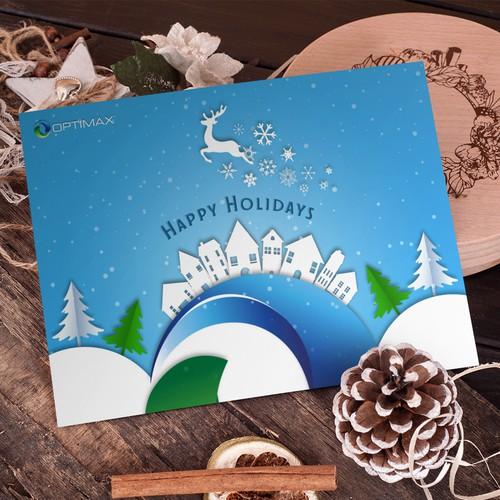Logo Concept Christmas Card