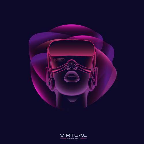 logo for virtual realist