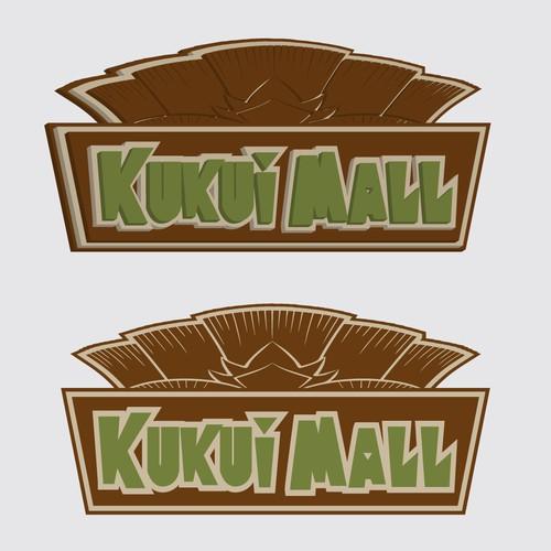 Sign Kukui Mall