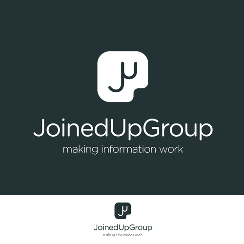 Create a winning logo for JoinedUpGroup - a new cloud based information management company