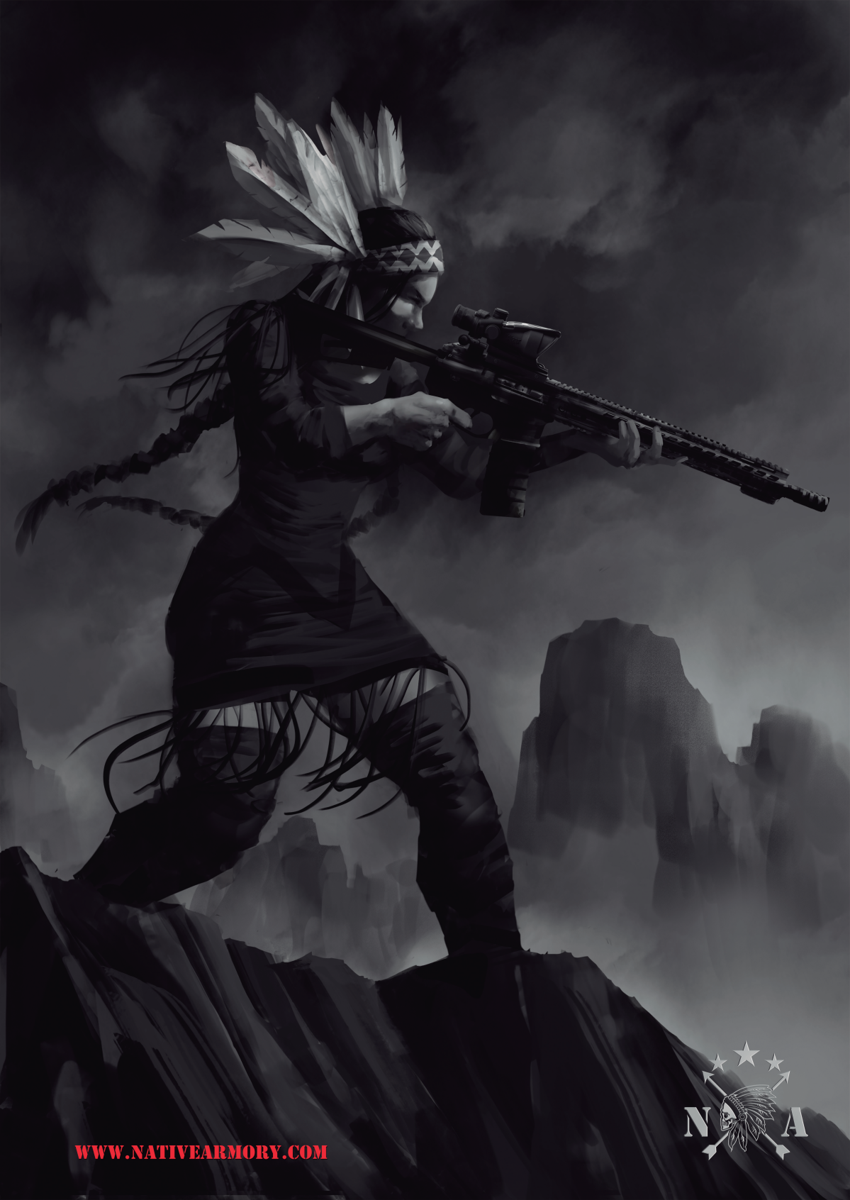 Native Armory Woman
