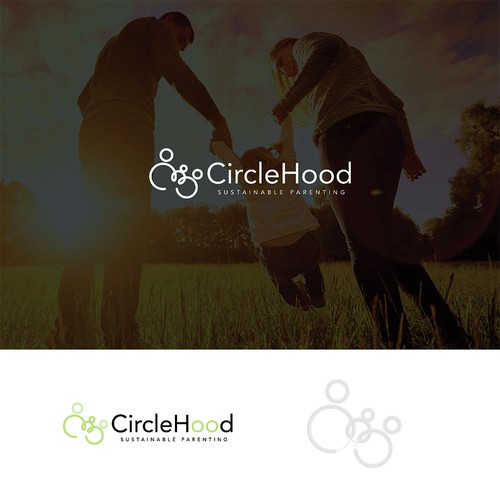 Creative logo concept of Family