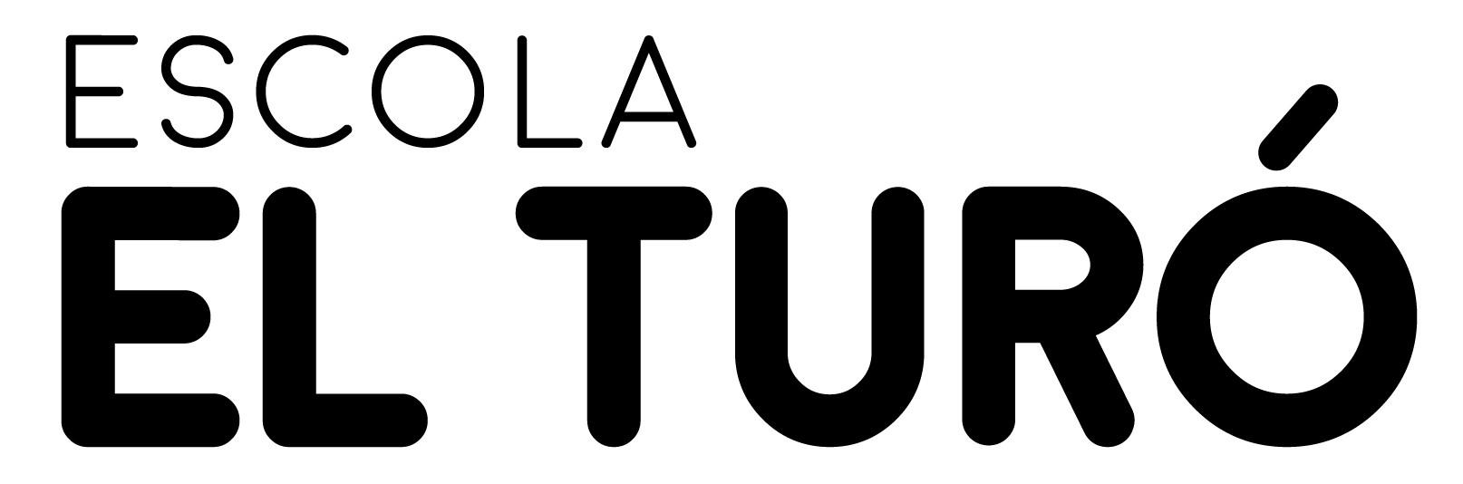 Diseño de logo para la escuela EL TURÓ