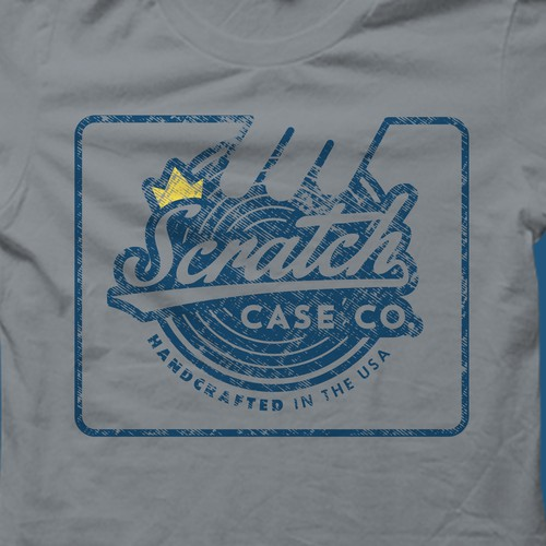 T-shirt design for Scratch Case Company