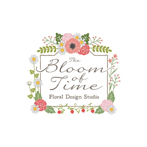 The bloom of time logo