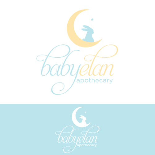 Create the next logo for baby elan apothecary