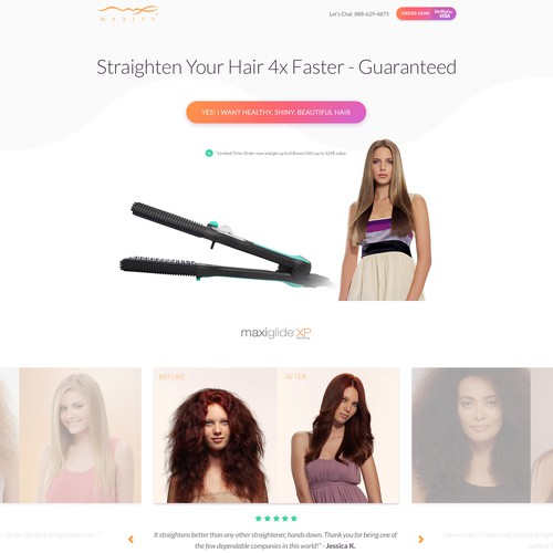 Concept for Hair Straightener