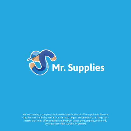 BRAND IDENTITY FOR Mr. Supplies