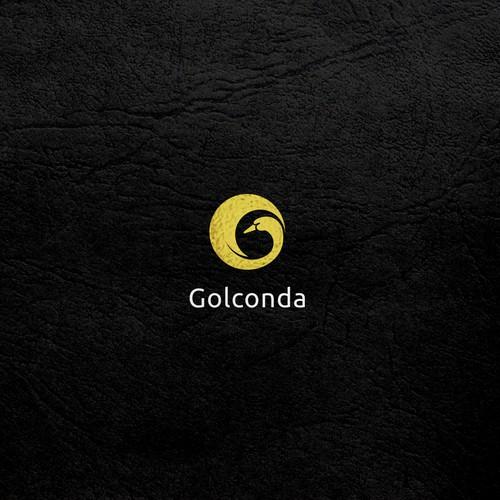 Beautiful logo for Golconda