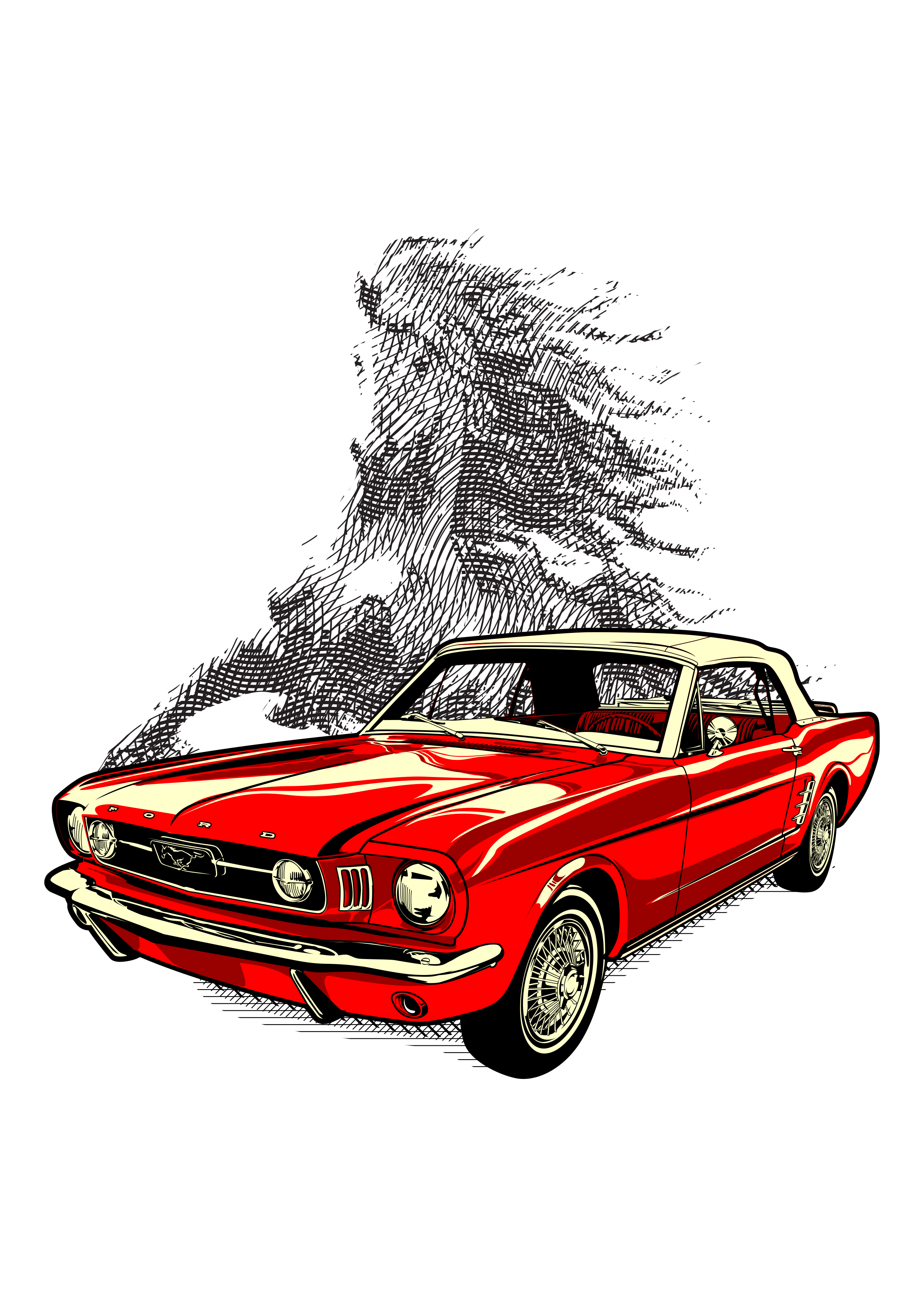 Mustang from past Contest
