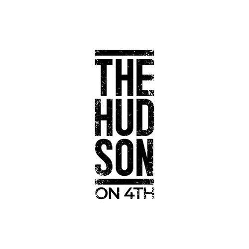 Logo for a new highrise tower - The Hudson