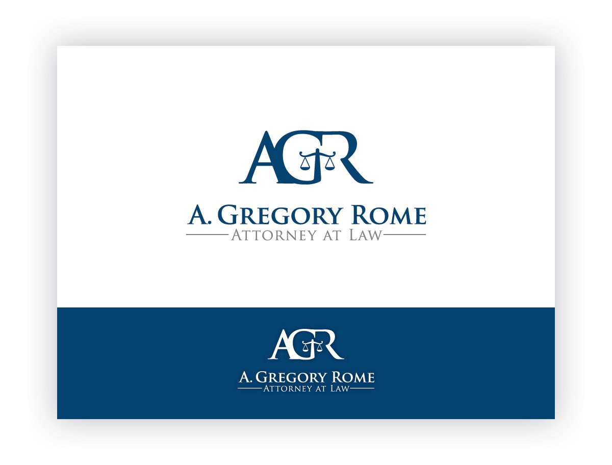 Create the next logo for A. Gregory Rome, Attorney at Law